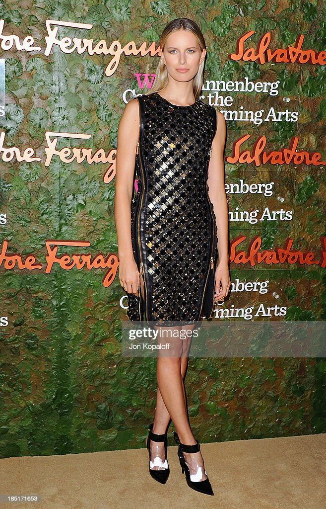 <a gi-track='captionPersonalityLinkClicked' href=/galleries/search?phrase=Karolina+Kurkova&family=editorial&specificpeople=202513 ng-click='$event.stopPropagation()'>Karolina Kurkova</a> arrives at the Wallis Annenberg Center For Performing Arts Inaugural Gala at Wallis Annenberg Center for the Performing Arts on October 17, 2013 in Beverly Hills, California.