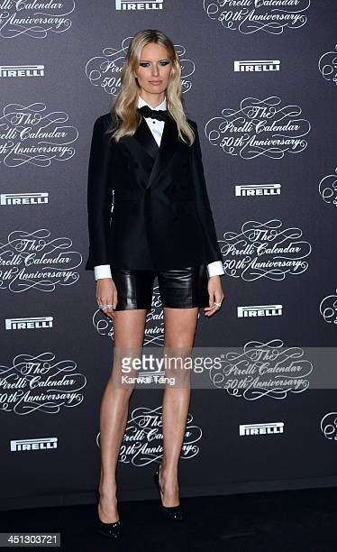 Karolina Kurkova arrives for Pirelli's 50th anniversary Gala dinner held at HangarBicocca on November 21 2013 in Milan Italy