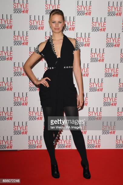 Karolina Kurkova at the ELLE Style Awards 2009 at Big Sky London 2931 Brewery Street London