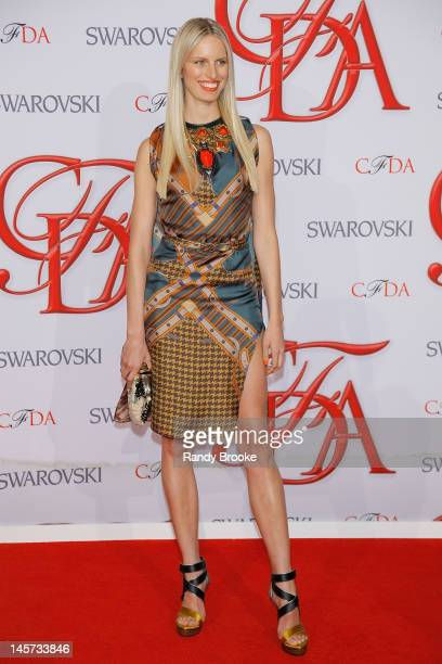 Karolina Kurkova attends 2012 CFDA Fashion Awards at Alice Tully Hall on June 4 2012 in New York City