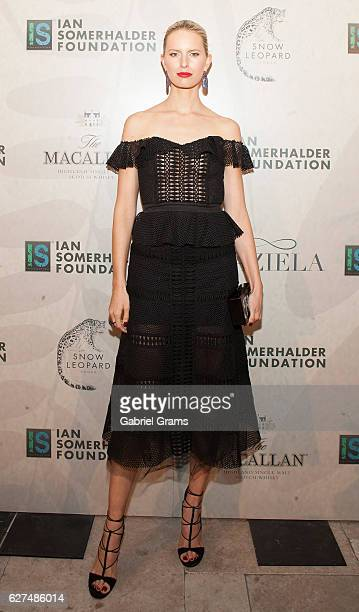 Karolina Kurkova attends 2016 Ian Somerhalder Foundation Benefit Gala at Galleria Marchetti on December 3 2016 in Chicago Illinois