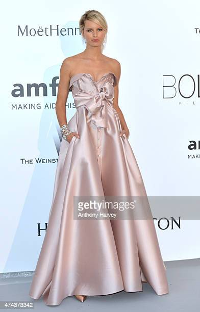 Karolina Kurkova attends amfAR's 22nd Cinema Against AIDS Gala Presented By Bold Films And Harry Winston at Hotel du CapEdenRoc on May 21 2015 in Cap...