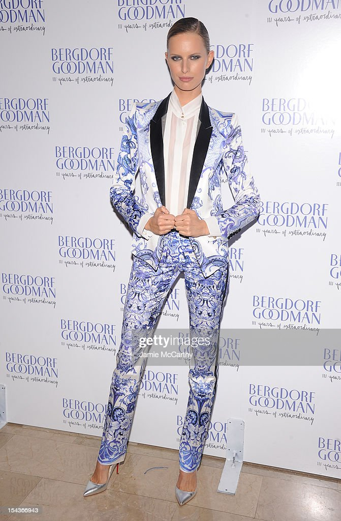 Karolina Kurkova attends Bergdorf Goodman's 111th anniversary celebration at the Plaza Hotel on October 18 2012 in New York City