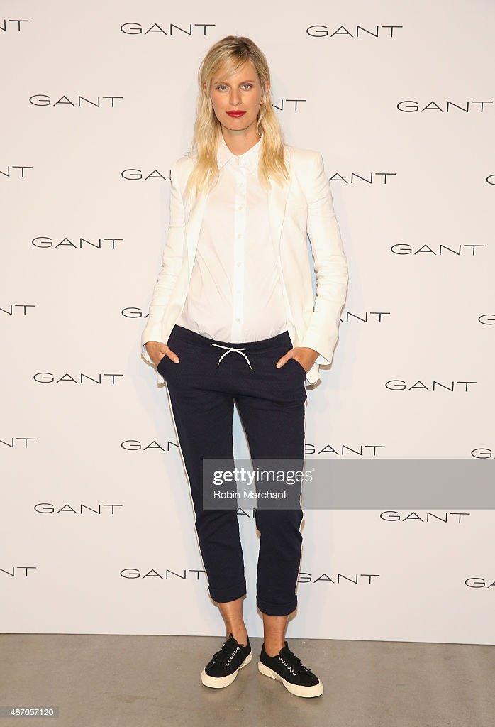 Karolina Kurkova attends House of Gant Presentation during Spring 2016 New York Fashion Week on September 10 2015 in New York City