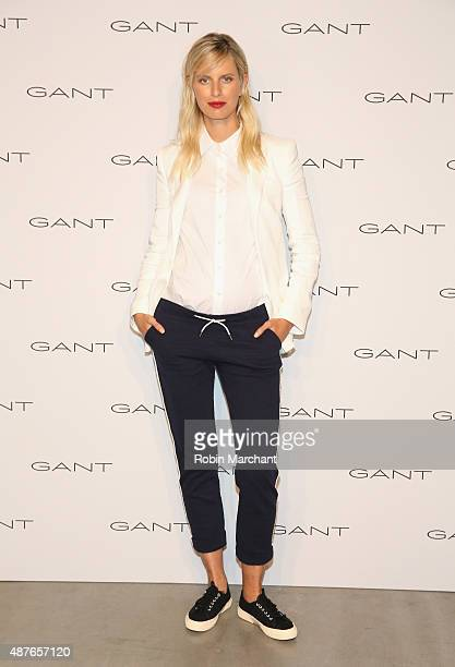 Karolina Kurkova attends House of Gant Presentation during Spring 2016 New York Fashion Week on September 10 2015 in New York City