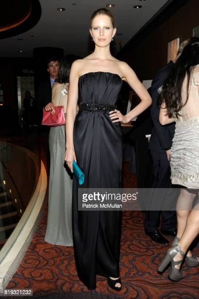 Karolina Kurkova attends NEW YORKERS FOR CHILDREN Spring Dinner Dance Presented by AKRIS at The Mandarin Oriental on April 8 2010 in New York City