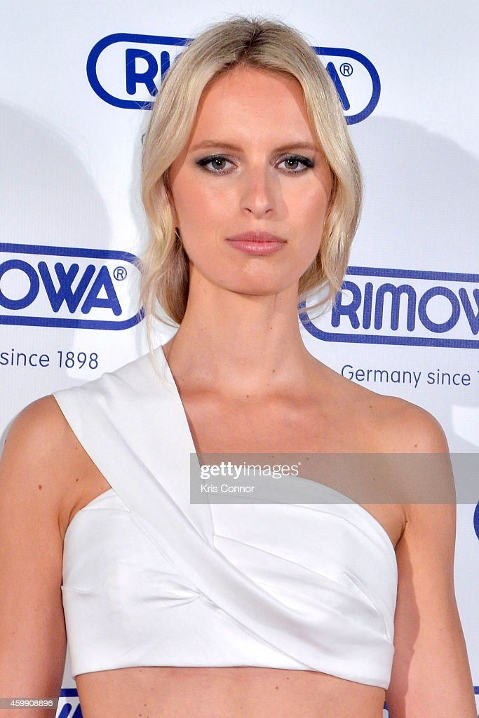 Karolina Kurkova attends Rimowa store opening on December 3, 2014 in Miami, Florida.