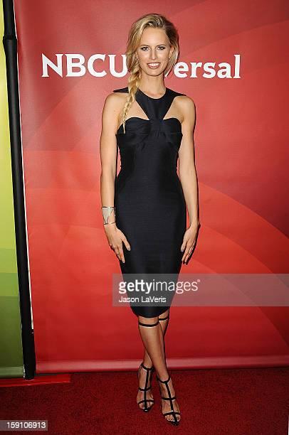 Karolina Kurkova attends the 2013 NBC TCA Winter Press Tour at The Langham Huntington Hotel and Spa on January 7 2013 in Pasadena California