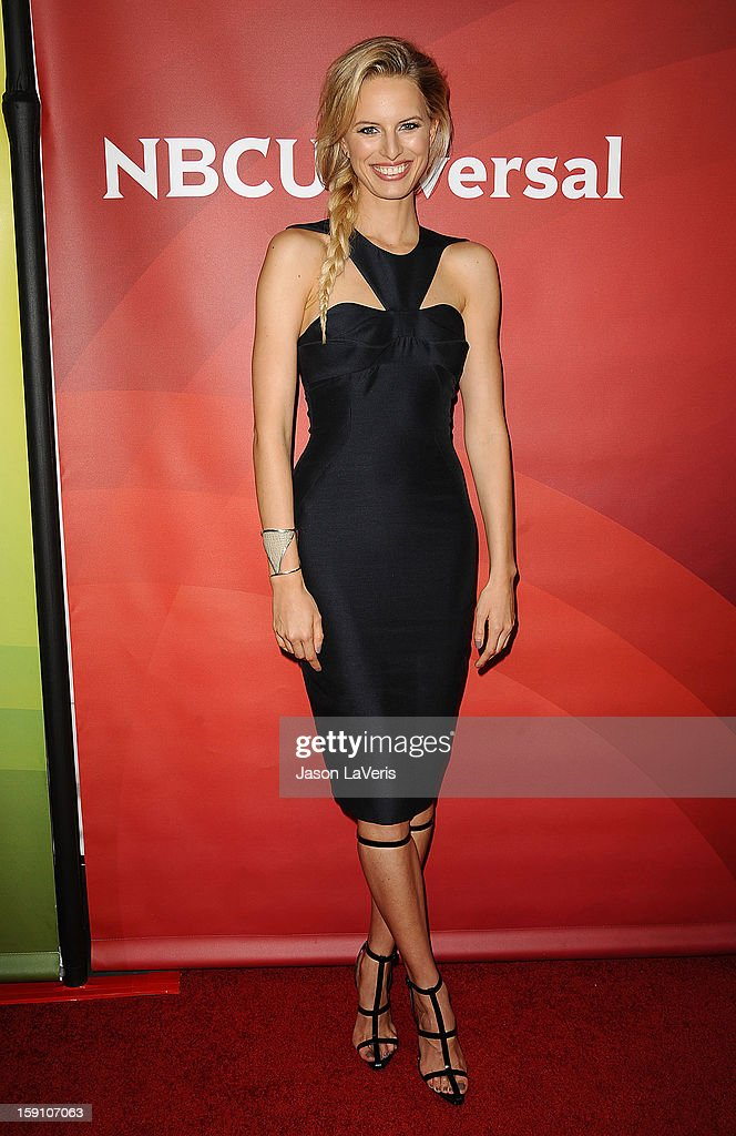 Karolina Kurkova attends the 2013 NBC TCA Winter Press Tour at The Langham Huntington Hotel and Spa on January 7, 2013 in Pasadena, California.