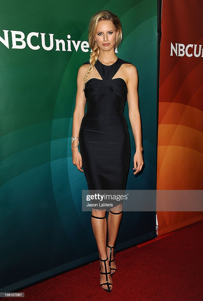 Karolina Kurkova attends the 2013 NBC TCA Winter Press Tour at The Langham Huntington Hotel and Spa on January 7, 2013 in Pasadena, California.