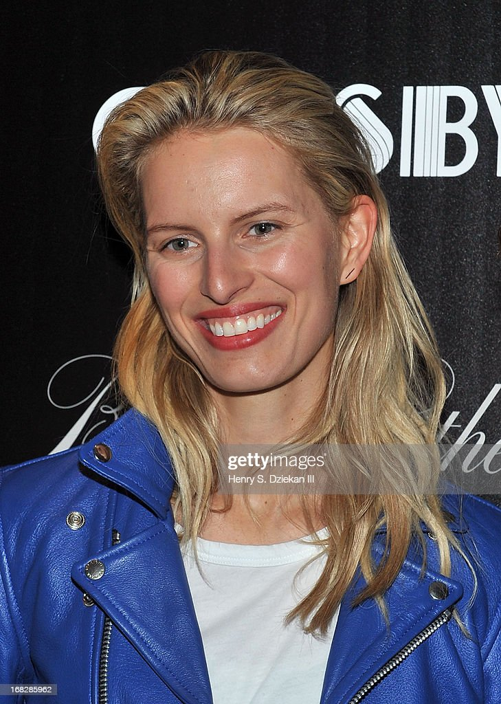 <a gi-track='captionPersonalityLinkClicked' href=/galleries/search?phrase=Karolina+Kurkova&family=editorial&specificpeople=202513 ng-click='$event.stopPropagation()'>Karolina Kurkova</a> attends the Brooks Brothers and Town & Country with The Cinema Society screening of 'The Great Gatsby' at HBO Screening Room on May 7, 2013 in New York City.