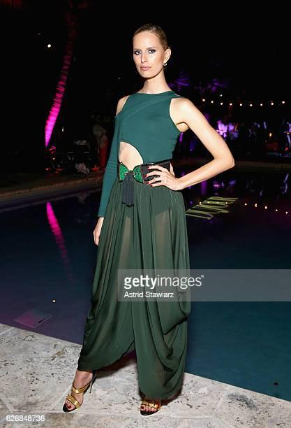 Karolina Kurkova attends the DuJour Media Gilt JetSmarter party to kick off Art Basel at The Confidante on November 30 2016 in Miami Beach Florida