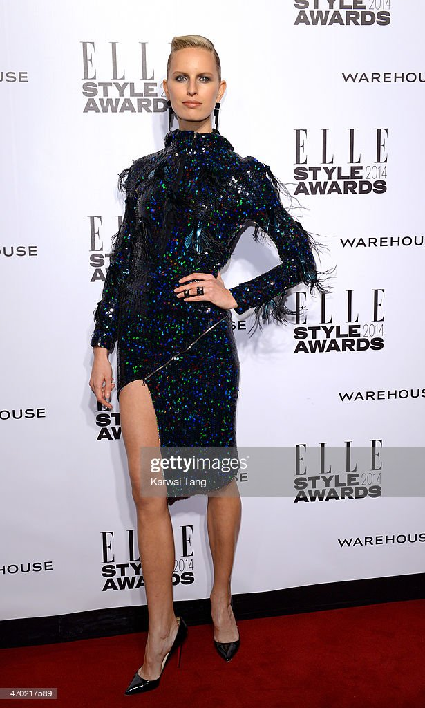 <a gi-track='captionPersonalityLinkClicked' href=/galleries/search?phrase=Karolina+Kurkova&family=editorial&specificpeople=202513 ng-click='$event.stopPropagation()'>Karolina Kurkova</a> attends the Elle Style Awards 2014 at One Embankment on February 18, 2014 in London, England.