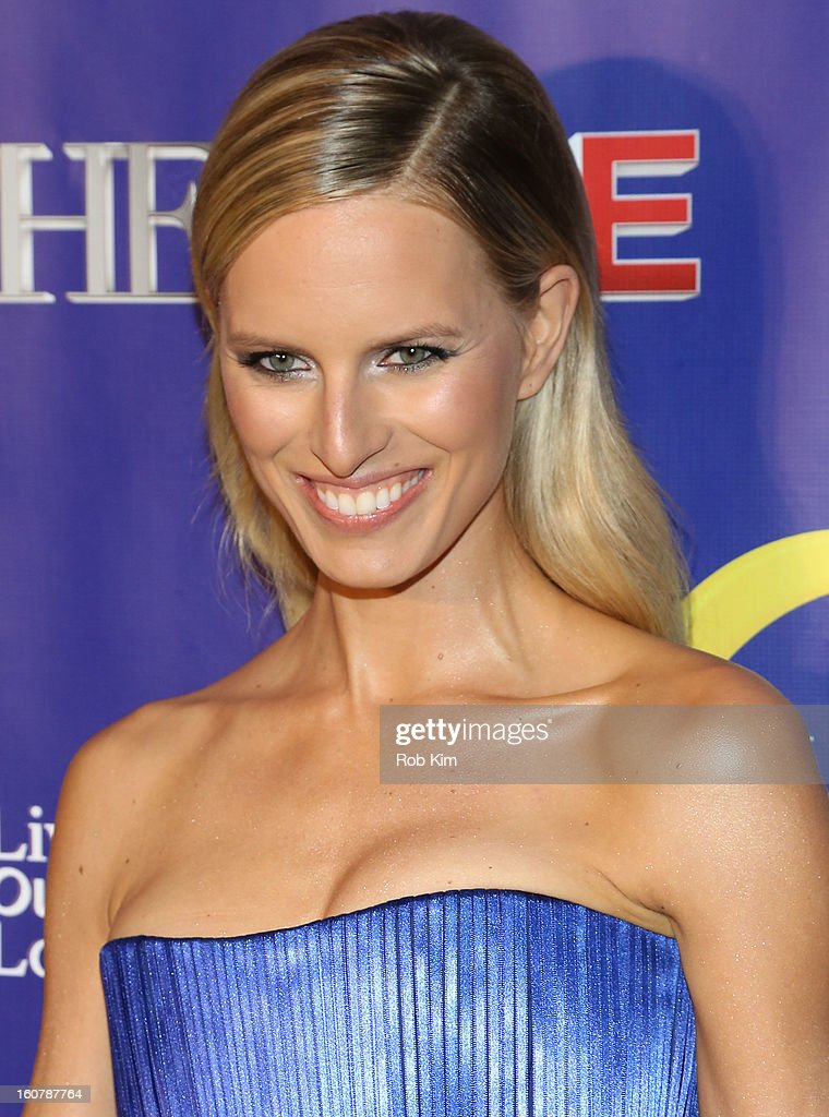 Karolina Kurkova attends 'The Face' Series Premiere at Marquee New York on February 5, 2013 in New York City.