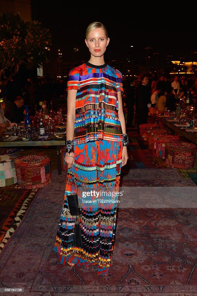 Karolina Kurkova attends the Gala Event during the Vogue Fashion Dubai Experience on October 31, 2014 in Dubai, United Arab Emirates.