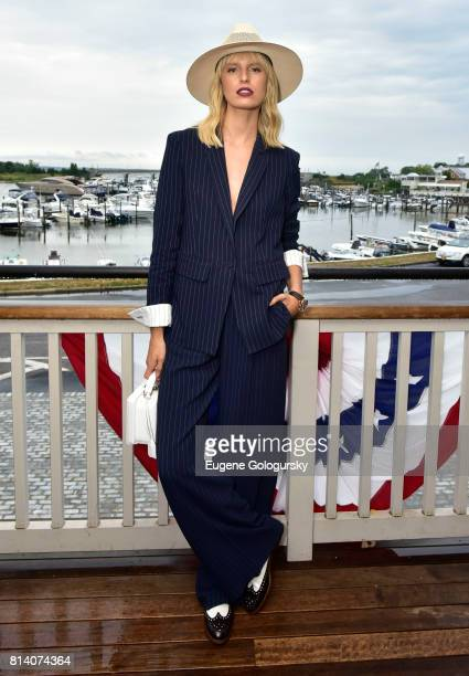 Karolina Kurkova attends the Hamptons Magazine Celebration with Cover Star Karolina Kurkova on July 13 2017 in Sag Harbor New York
