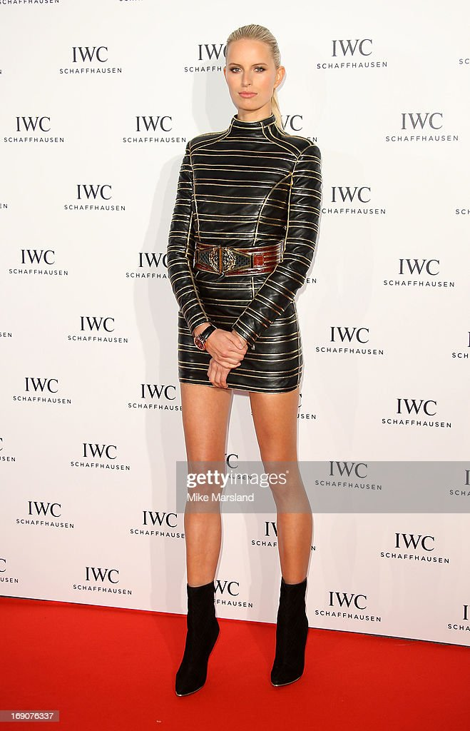 Karolina Kurkova attends the IWC FilmMakers dinner during The 66th Annual Cannes Film Festival on May 19 2013 in Cannes France