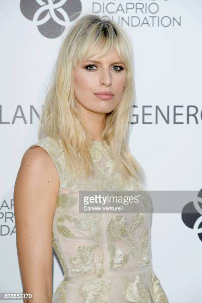 Karolina Kurkova attends the Leonardo DiCaprio Foundation 4th Annual SaintTropez Gala at Domaine Bertaud Belieu on July 27 2017 in SaintTropez France