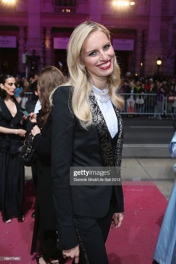 Karolina Kurkova attends the 'Life Ball 2013 - Magenta Carpet Arrivals' at City Hall on May 25, 2013 in Vienna, Austria.