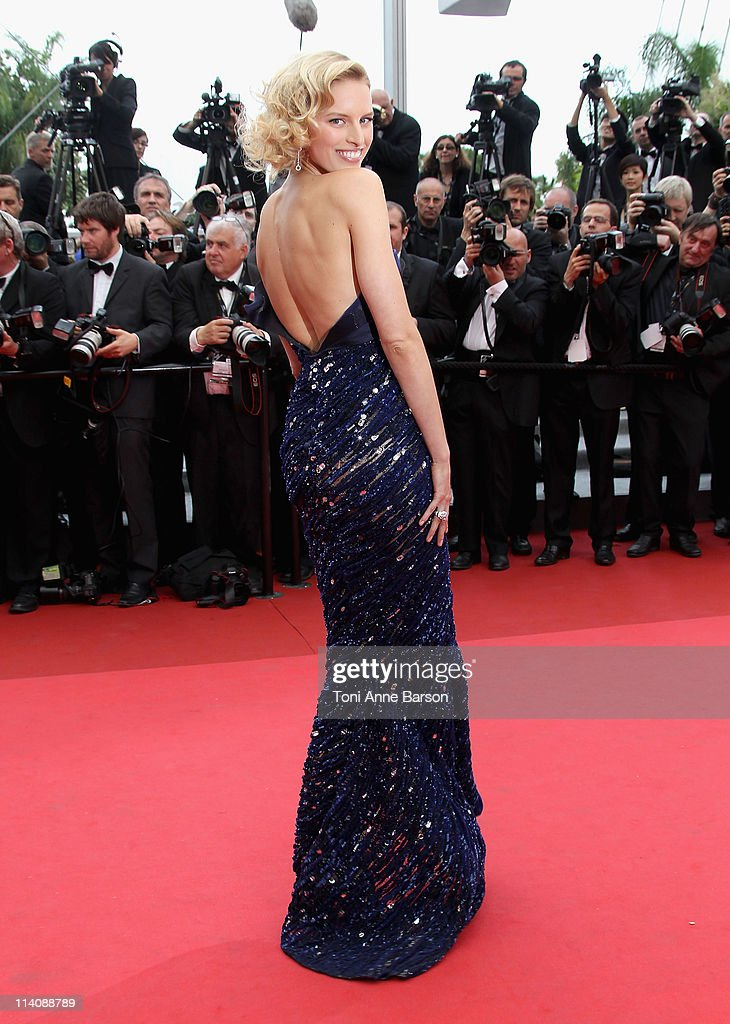Karolina Kurkova attends the Opening Ceremony and 'Midnight In Paris' Premiere at the Palais des Festivals during the 64th Cannes Film Festival on May 11, 2011 in Cannes, France.