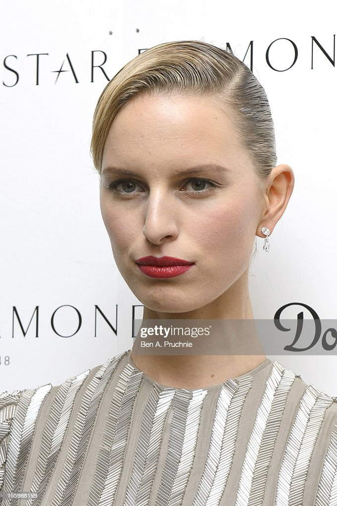 Karolina Kurkova attends the PeaceEarth foundation fundraising gala at Banqueting House on November 10, 2012 in London, England.