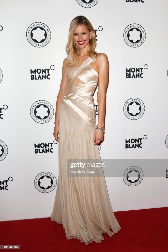 <a gi-track='captionPersonalityLinkClicked' href=/galleries/search?phrase=Karolina+Kurkova&family=editorial&specificpeople=202513 ng-click='$event.stopPropagation()'>Karolina Kurkova</a> attends the PRIX Montblanc 2012 at the 'Konzerthaus am Gendarmenmarkt' on October 29, 2012 in Berlin, Germany.