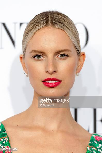 Karolina Kurkova attends the Valentino Sala Bianca 945 Event on December 10 2014 in New York City