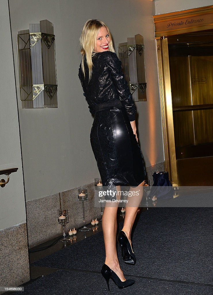 Karolina Kurkova attends the Versace Dinner at The Waldorf Towers on October 24, 2012 in New York City.