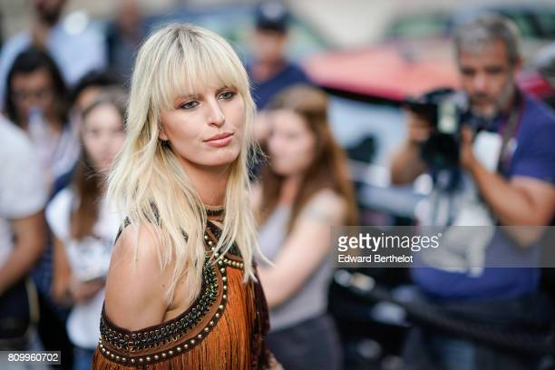 Karolina Kurkova attends the Vogue Foundation Dinner during Paris Fashion Week Haute Couture Fall/Winter 20172018 on July 4 2017 in Paris France