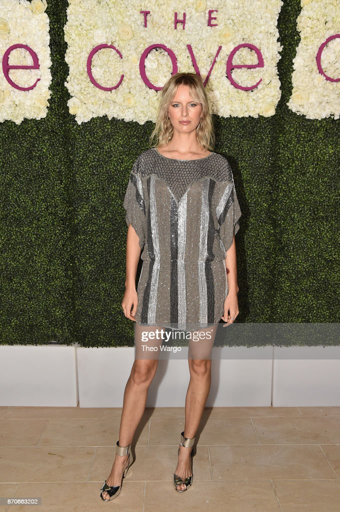 Karolina Kurkova attends the weekend opening of The NEW ultra-luxury Cove Resort at Atlantis Paradise Island on November 4, 2017 in The Bahamas.