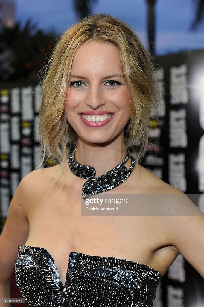 Karolina Kurkova attends the World Music Awards 2010 at the Sporting Club on May 18, 2010 in Monte Carlo, Monaco.