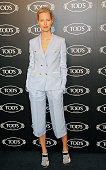 Karolina Kurkova attends Tod's Boutique ReOpening Celebration at Tod's Boutique on September 8 2014 in New York City