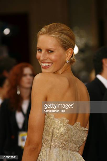 Karolina Kurkova during The 78th Annual Academy Awards – Arrivals at Kodak Theatre in Hollywood California United States