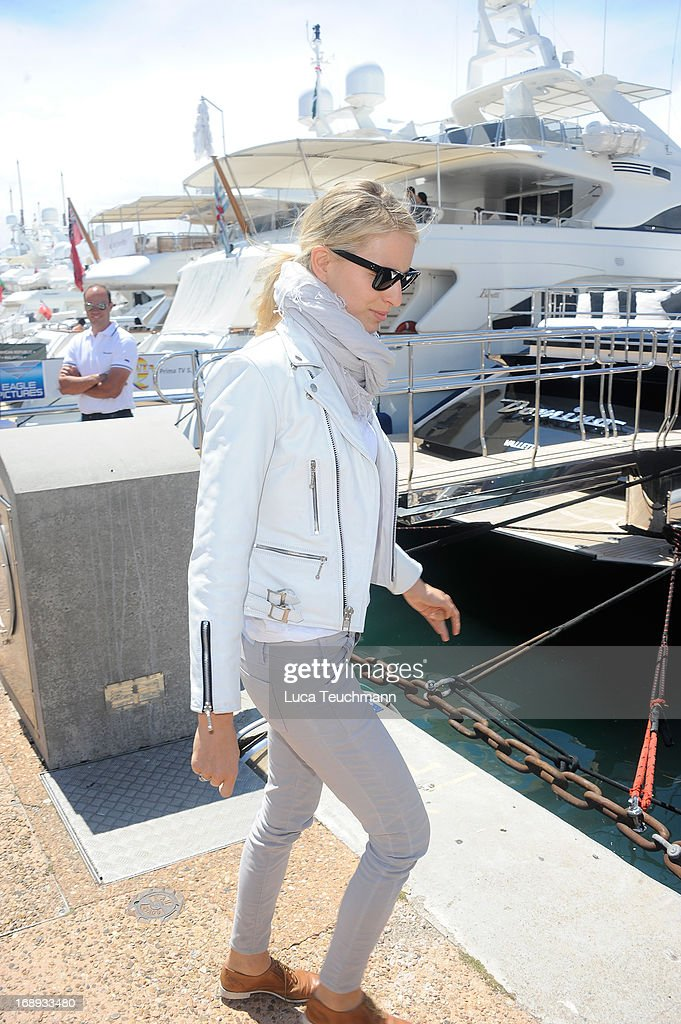 Karolina Kurkova is seen at the 66th Annual Cannes Film Festival on May 17, 2013 in Cannes, France.
