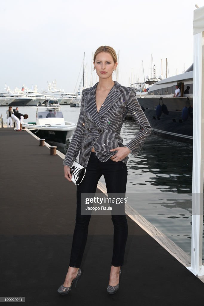 Karolina Kurkova is seen during the 63rd Annual International Cannes Film Festival on May 19, 2010 in Cannes, France.