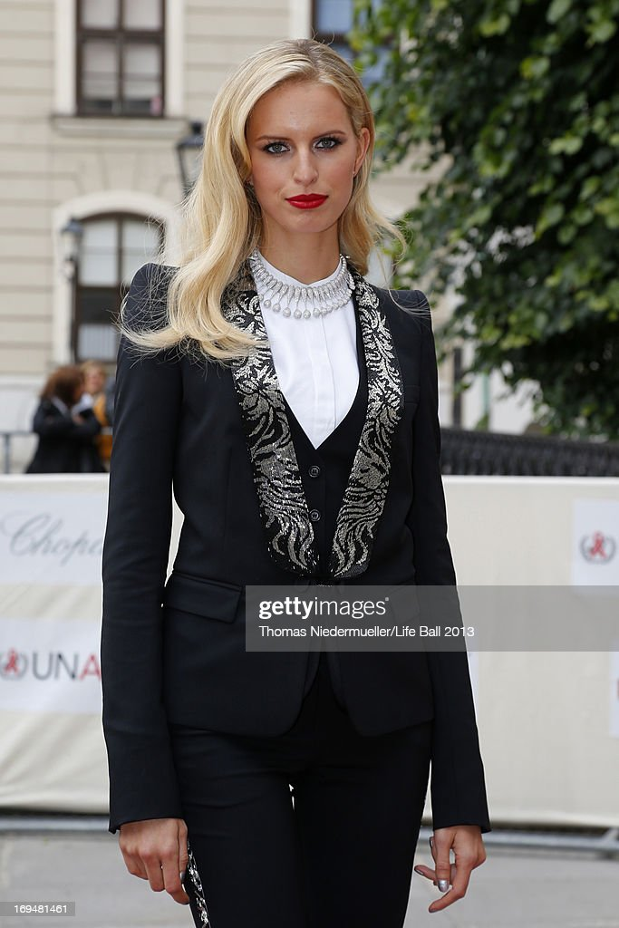 Karolina Kurkova poses prior the 'AIDS Solidarity Gala 2013' at Hofburg Vienna on May 25, 2013 in Vienna, Austria.