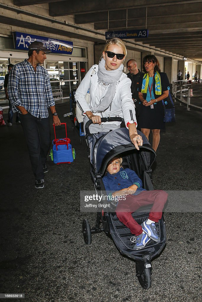 <a gi-track='captionPersonalityLinkClicked' href=/galleries/search?phrase=Karolina+Kurkova&family=editorial&specificpeople=202513 ng-click='$event.stopPropagation()'>Karolina Kurkova</a> seen at Nice airport during the 66th Annual Cannes Film Festival at Nice Airport on May 17, 2013 in Nice, France.