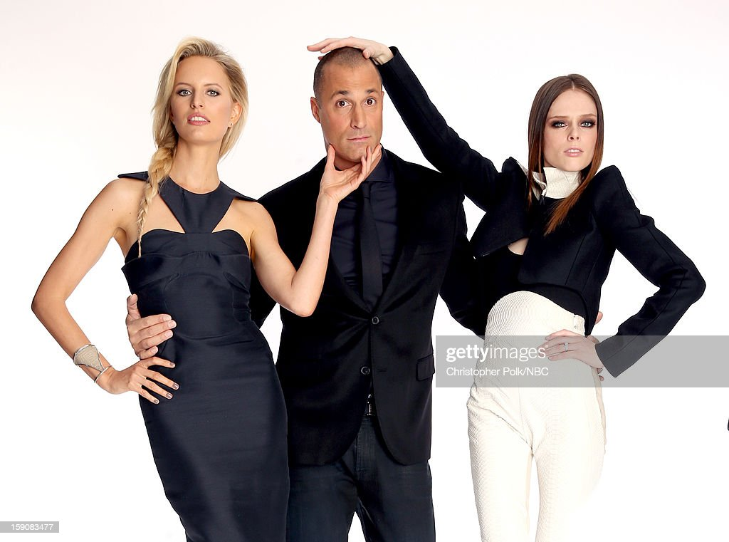 <a gi-track='captionPersonalityLinkClicked' href=/galleries/search?phrase=Karolina+Kurkova&family=editorial&specificpeople=202513 ng-click='$event.stopPropagation()'>Karolina Kurkova</a>, Supermodel Coach, Photographer <a gi-track='captionPersonalityLinkClicked' href=/galleries/search?phrase=Nigel+Barker&family=editorial&specificpeople=691819 ng-click='$event.stopPropagation()'>Nigel Barker</a>, <a gi-track='captionPersonalityLinkClicked' href=/galleries/search?phrase=Coco+Rocha&family=editorial&specificpeople=4172514 ng-click='$event.stopPropagation()'>Coco Rocha</a>, Supermodel Coach 'The Face' attend the 2013 Winter TCA Tour- Day 4 at The Langham Huntington Hotel and Spa on January 7, 2013 in Pasadena, California.
