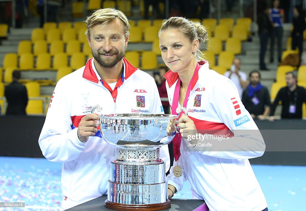 France v Czech Republic - Fed Cup Final Day 2 : News Photo