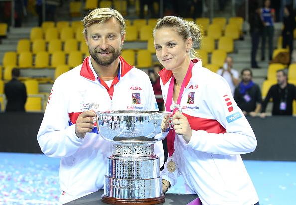 France v Czech Republic - Fed Cup Final Day 2 : News Photo