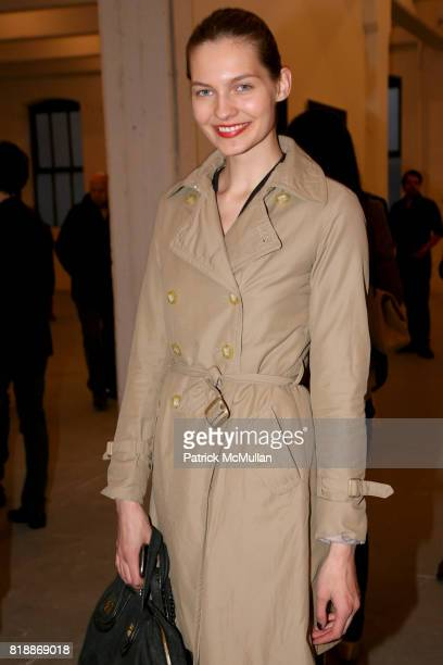Karolina Wolton attends 'The Transformation of ENRIQUE MIRON as El Diablo' by PAUL ROWLAND at 548 W 22nd St on April 29 2010 in New York