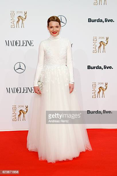 Karoline Herfurth arrives at the Bambi Awards 2016 at Stage Theater on November 17 2016 in Berlin Germany