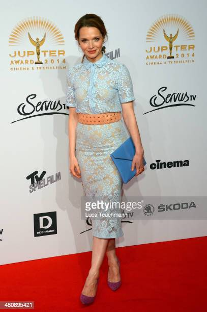 Karoline Herfurth attend 'Jupiter Award 2014' at Cafe Moskau on March 26 2014 in Berlin Germany