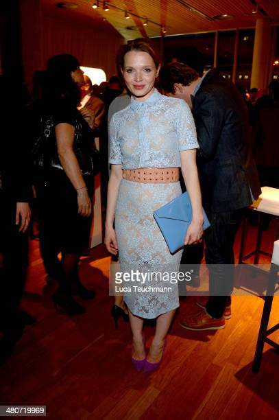 Karoline Herfurth attend Jupiter Award 2014 at Cafe Moskau on March 26 2014 in Berlin Germany