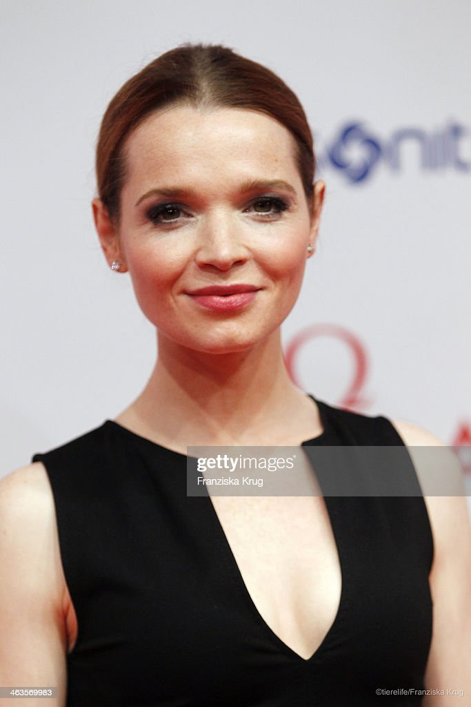 <a gi-track='captionPersonalityLinkClicked' href=/galleries/search?phrase=Karoline+Herfurth&family=editorial&specificpeople=636213 ng-click='$event.stopPropagation()'>Karoline Herfurth</a> attends the German Film Ball 2014 (Deutscher Filmball) on January 18, 2014 in Munich, Germany.