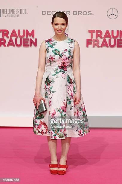 Karoline Herfurth attends the Traumfrauen premiere at CineStar on February 17 2015 in Berlin Germany