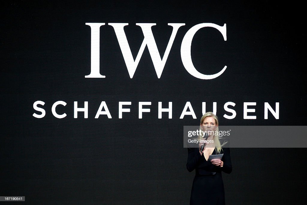 Karoline Huber, IWC Director of Marketing & Communications attends the exclusive 'For the Love of Cinema' event hosted by Swiss watch manufacturer IWC Schaffhausen in the role as new sponsor of the Beijing International Film Festival, at the Ming Dynasty City Wall on April 22, 2013 in Beijing, China.