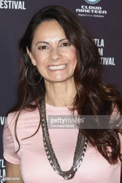 Karolyne Sosa attends the DTLA Film Festival Premiere Of 'The Pathological Optimist' at Regal 14 at LA Live Downtown on September 25 2017 in Los...