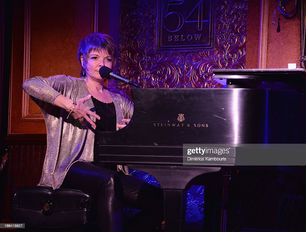 Karrin Allyson attends the 54 Press Preview at 54 Below on April 12, 2013 in New York City.