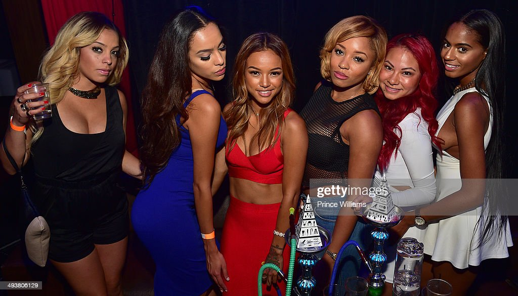 <a gi-track='captionPersonalityLinkClicked' href=/galleries/search?phrase=Karrueche+Tran&family=editorial&specificpeople=9447374 ng-click='$event.stopPropagation()'>Karrueche Tran</a> and Sheneka Adams attend the ultimate Memorial Day weekend celebration hosted by T.I. and <a gi-track='captionPersonalityLinkClicked' href=/galleries/search?phrase=Karrueche+Tran&family=editorial&specificpeople=9447374 ng-click='$event.stopPropagation()'>Karrueche Tran</a> at Prive at the TW Theater on May 24, 2014 in Las Vegas, Nevada.
